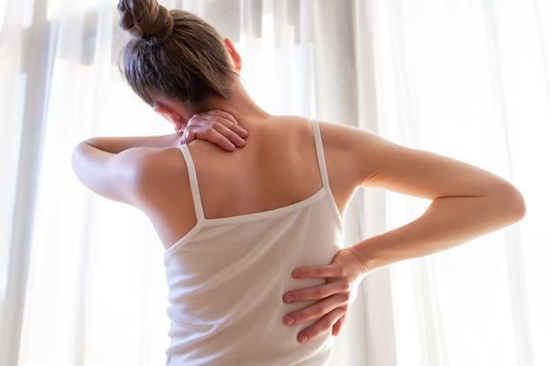 pinched nerve - neck pain